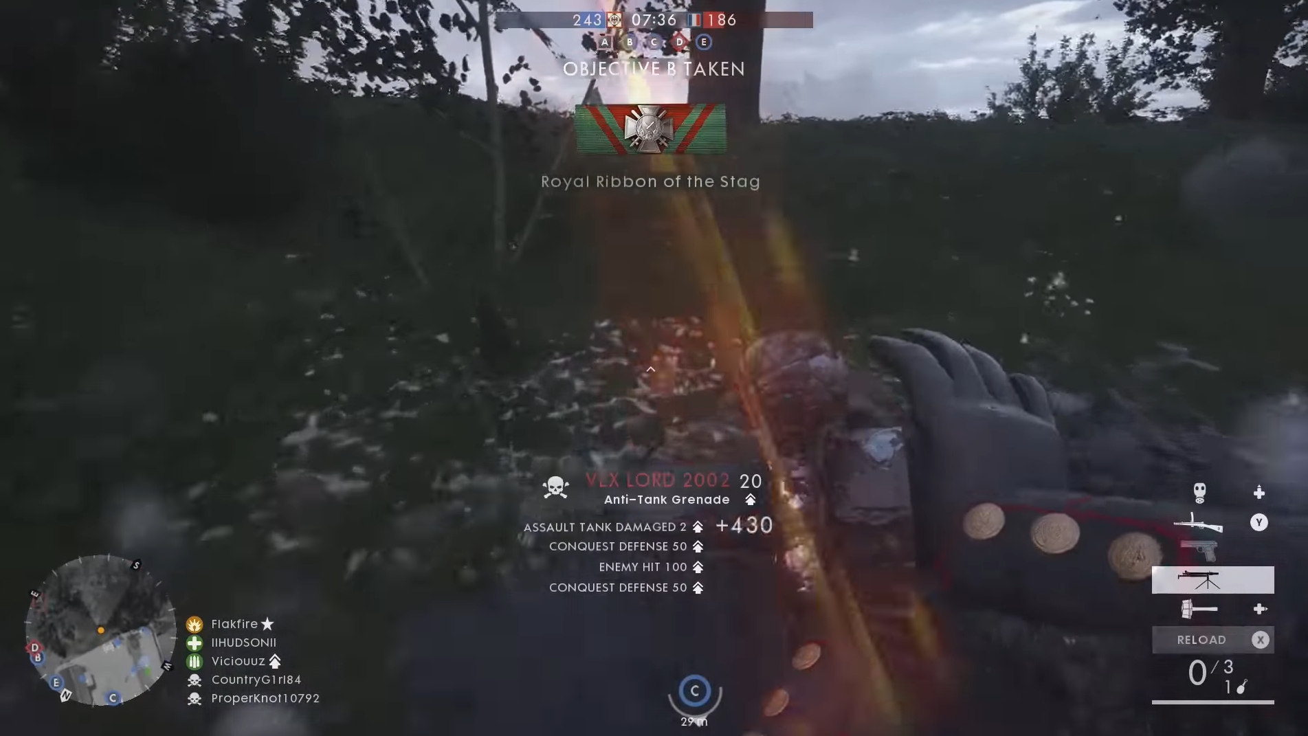 Battlefield 1 User Interface: Rewarding